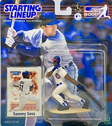 Picture of Starting Lineup Action Figure Sammy Sosa Baseball 2000