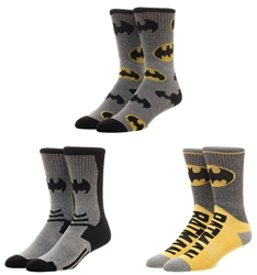 Picture of Batman Crew Socks 3 Pack