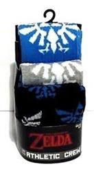 Picture of Zelda Crew Socks 3 Pack
