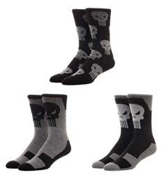 Picture of Punisher Crew Socks 3 Pack