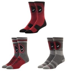 Picture of Deadpool Crew Socks 3 Pack