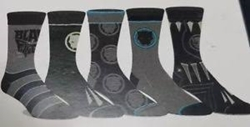 Picture of Black Panther Crew Socks 5 Pack