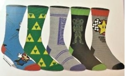 Picture of Super Nintendo Crew Socks 5 Pack