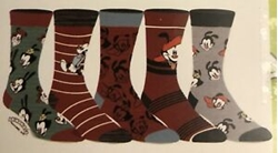 Picture of Animaniacs Crew Socks 5 Pack