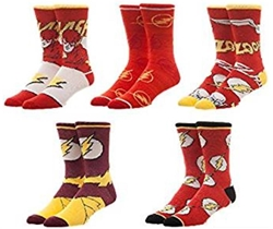 Picture of Flash Crew Socks 5 Pack