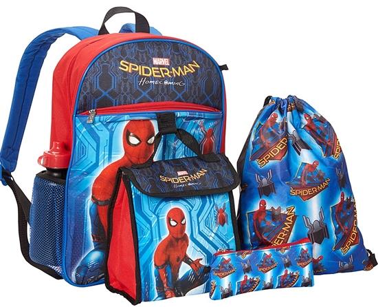 spodermanbackpackset
