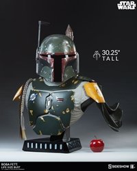 Picture of Star Wars Boba Fett Life-Size Bust