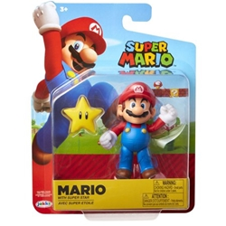"Picture of World of Nintendo Mario 4"" Figure"