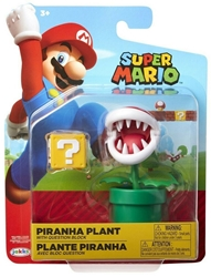 "Picture of World of Nintendo Piranha Plant 4"" Figure"
