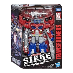 Picture of Transformers Generations Siege War for Cybertron Leader Class Galaxy Upgrade Optimus Prime Figure