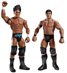 Picture of WWE Supreme Teams Darren Young & Justin Gabriel Figure 2-Pack Series 10