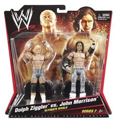 Picture of WWE Ultimate Rivals Dolph Ziggler vs John Morrison Figure 2-Pack Series 7