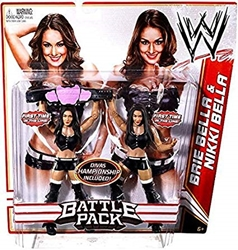 Picture of WWE Battle Pack Brie Bella & Nikki Bella Figure 2-Pack Series 15