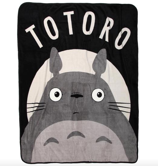 Picture of Totoro Plush Throw Blanket