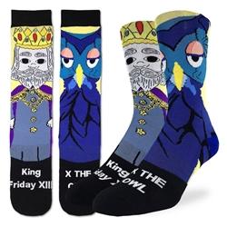 Picture of Men's Mister Rogers King Friday Socks
