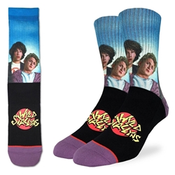Picture of Men's Bill and Ted's Wyld Stallyns Socks Size 8-13