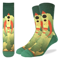 Picture of Men's Rocket Ship Socks Size 8-13