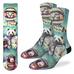 Picture of Men's Animal Astronauts Socks