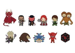 Picture of Dungeons and Dragons Series 1 3D Foam Keyring Blindbag
