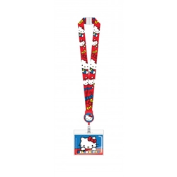 Picture of Hello Kitty Lanyard with Retractable Card Holder