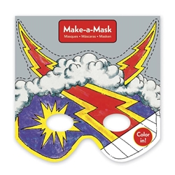 Picture of Super Heroes Make-a-Mask Activity Book