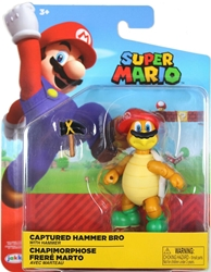 "Picture of World of Nintendo Captured Hammer Bro 4"" Figure"