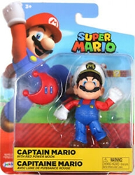"Picture of World of Nintendo Captain Mario 4"" Figure"