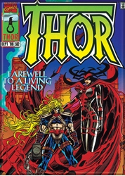 Picture of Thor Comic #502 Magnet