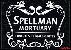 Picture of Sabrina Spellman Mortuary Magnet