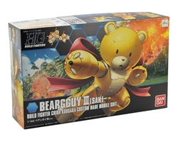 Picture of Gundam Build Fighters Beargguy III San HGBF Model Kit
