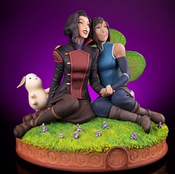 Picture of Legend of Korra and Asami Mondo Statue