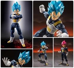 Picture of Dragon Ball Z Super Saiyan God Vegeta s.h.Figuarts Figure