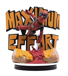 Picture of Deadpool Maximum Effort Q-Fig Max Diorama