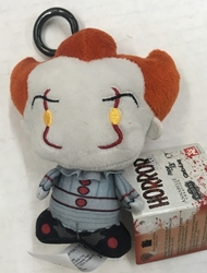 "Picture of Horror Chibi Pennywise 4"" Plush Clipon"