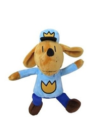 "Picture of Dog Man 9.5"" Plush"