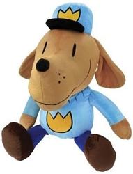 "Picture of Dog Man 20"" Plush"