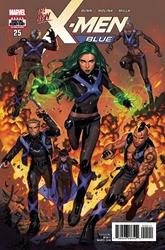 Picture of X-Men Blue #25