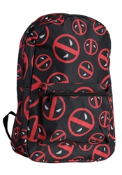 Picture of Deadpool Logo All Over Print Backpack