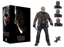 "Picture of Freddy vs Jason Ultimate 7"" Scale Figure"