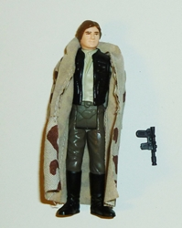 Picture of Star Wars Vintage Han Solo in Trench Coat Loose Action Figure