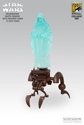 Picture of Star Wars Lords of the Sith Holographic Darth Sidious with Mechno-Chair 1:6 Scale Figure