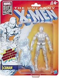 Picture of X-Men Iceman Retro Marvel Legends Figure