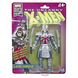 Picture of X-Men Silver Samurai Retro Marvel Legends Figure