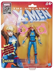 Picture of X-Men Dazzler Retro Marvel Legends Figure