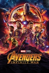 """Picture of Avengers Infinity War 24""""x36"""" Poster"""