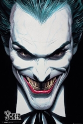 "Picture of Joker Alex Ross 24""x36"" Poster"