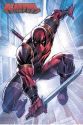 "Picture of Deadpool Action Pose 24""x36"" Poster"