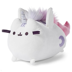 "Picture of Pusheen Super Pusheenicorn Flying 9"" Plush"