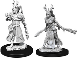 Picture of Dungeons and Dragons Nolzur's Marvelous Miniatures Female Human Druid
