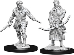Picture of Dungeons and Dragons Nolzur's Marvelous Miniatures Male Human Rogue